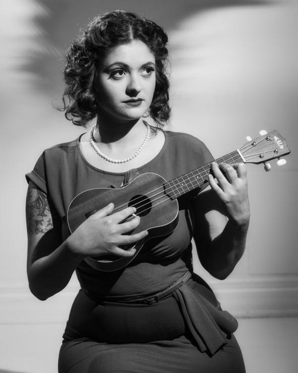 40s glamour ukulele