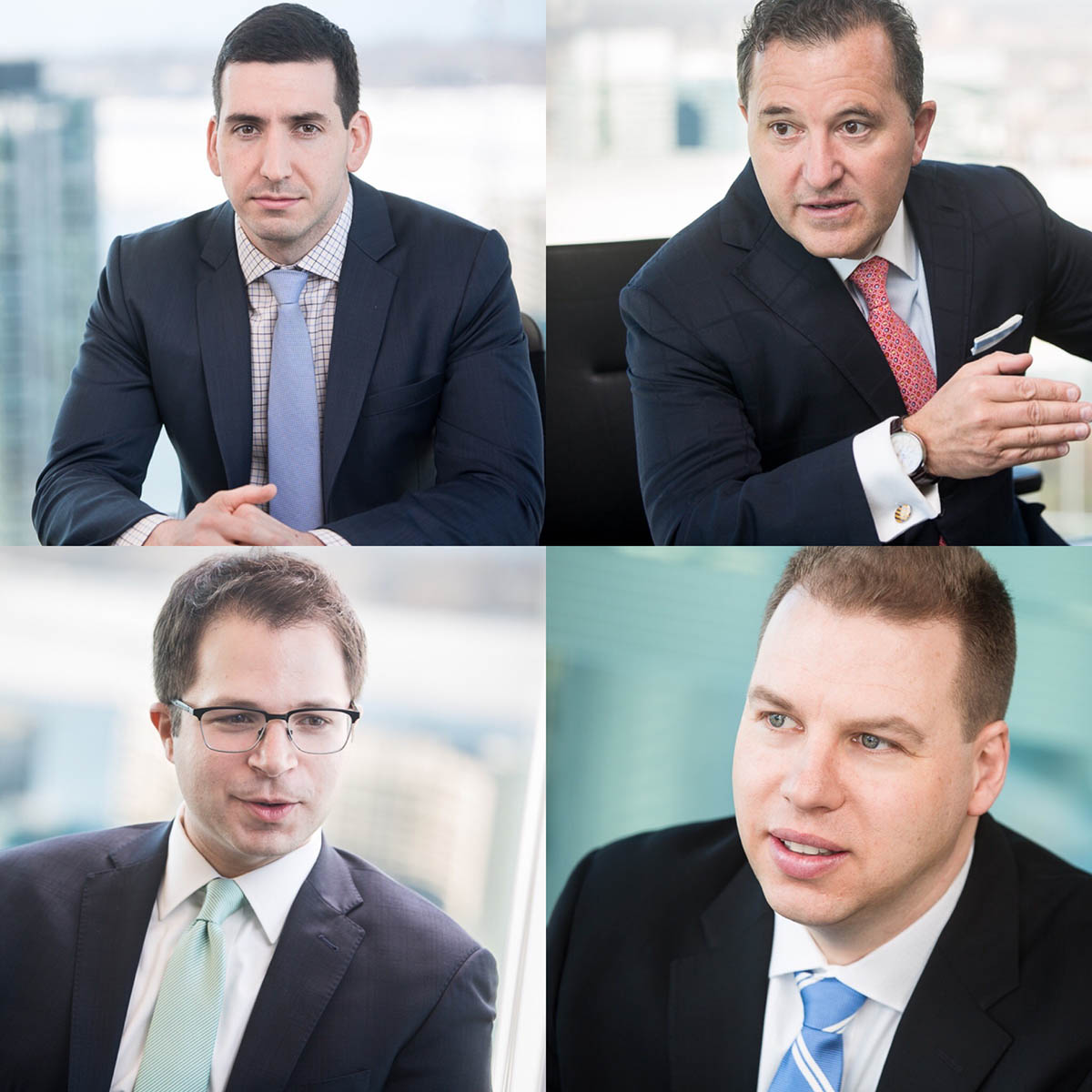 Location Shoot — Founding Members of Infor Financial