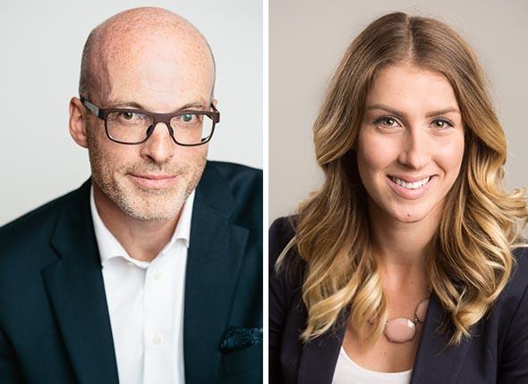 executive and business headshots portraits