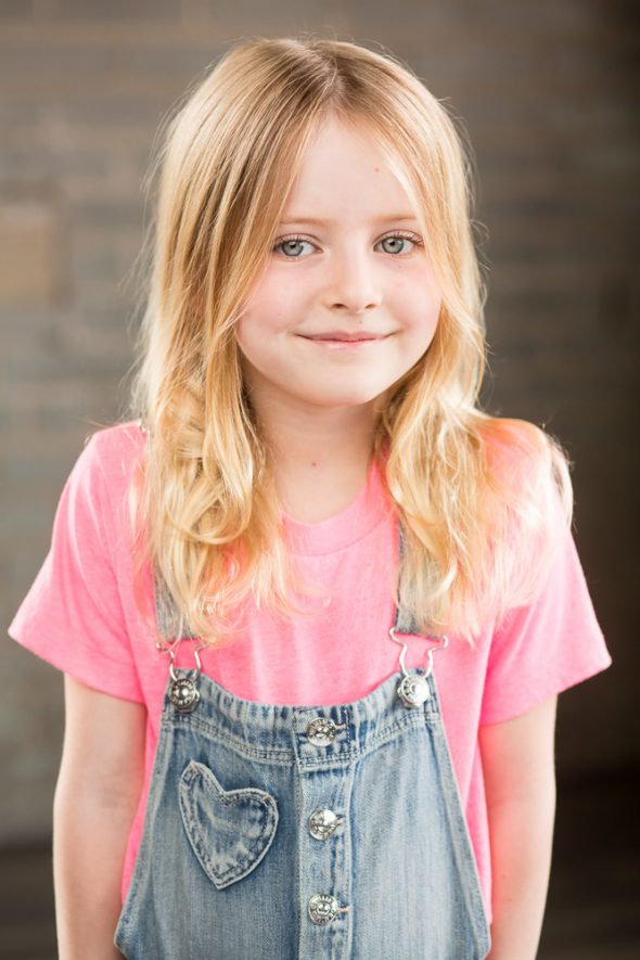 kids actor girl headshot