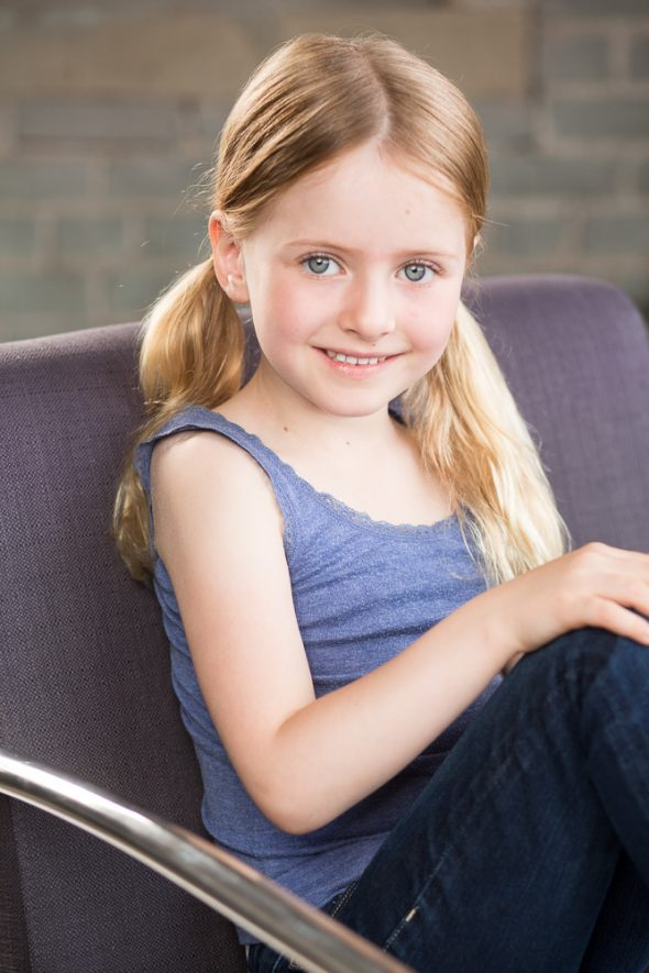 kids actor headshot female